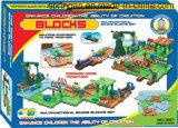 Giocattolo delle piste dei blocchi con migliore materiale