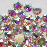 Ss20 Crystal Ab Rhinestone Vidro Flatback Hotfix Não Rhinestone cristais (FB-5mm/5A)