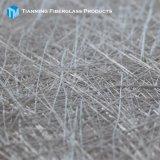 Pultrusionのためのマットのガラス繊維の組合せのマットと編まれた粗紡