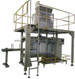 Automatische granulezak met verpakkingsmachine