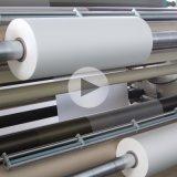 Película térmica de BOPP/película laminação de Matt/película do resíduo metálico rolo da estratificação