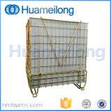 Container van het Netwerk van de Draad van het Voorvormen van het Huisdier van het Pakhuis van de opslag de Logistische