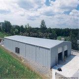 Het professionele Gebouwde Geprefabriceerde Pakhuis van de Structuur van het Staal