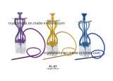 2016 Nouveau style court Portable Shisha acrylique narguilé avec LED