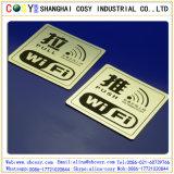 Gravure CNC ABS couleur Double Carte avec adhésif haute