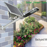 Halb integrierter justierbarer Sonnenkollektor Solar-LED 30 Watt-Straßenlaterne