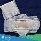 黄色の女らしいCare衛生学の女性生理用ナプキン