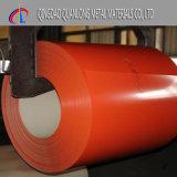 PPGI a enduit la bobine d'une première couche de peinture en acier pour la ligne continue usine de galvanisation