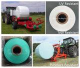 Bala redonda 500mm fundida resistente UV que envolve o envoltório da ensilagem da película