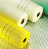 上塗を施してあるアルカリ抵抗力があるガラス繊維の網