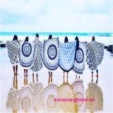 Círculo redondo Imprimir Toalla de playa con alta calidad