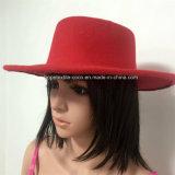 Form-gefälschter Wollen Falt-Oberseite Hut