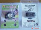 Головной Headlamp промотирования 3 СИД шарнирного соединения миниый приведенный в действие 2xcr2032