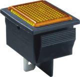 Interruptor de pulsador rectangular de la prensa del timbre de 2 Pin 250VAC