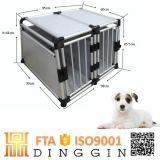 Casa de cão de alumínio luxuosa da casa do recipiente