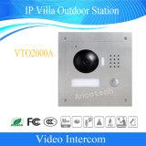 Controle de Acesso Dahua Intercomunicador de Vídeo de Segurança Doméstica Doorphone Campainha Villa IP da estação exterior (VTO2000A)