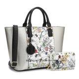 Nuovi sacchetto di spalla della cartella del sacchetto di Tote di stampa delle donne del progettista/raccoglitore d'impionbatura