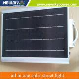8W liga de alumínio todo em uma luz de rua solar