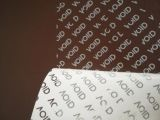 La impresión de etiquetas a todo color OEM Autoadhesivos adhesivo Silver/Gold foil stamping