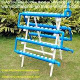 Tubulação oca do PVC do quadrado para a aplicação hidropónica