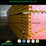 Couleur jaune en bois de pin H20 poutre de bois