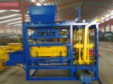 Ziegelstein-Block-Maschine der Presse-Qt4-15 mit hoher Konfiguration und Automatisierung