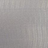Glitter gravado da pele animal como o couro artificial do saco do plutônio