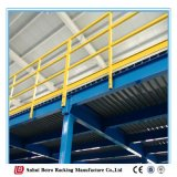 China Warehouse para Estrutura de aço do mezanino Industrial Garret Rack
