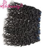 Precio mayorista de onda de agua natural del color de cabello virgen de Brasil