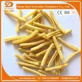 Farinha de trigo frita Puff Snack Process Line Extrusora de alimentos Máquina com máquina de embalagem