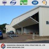 Heller Stahlrahmen für Flugzeug-Hangar