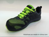 Les meilleures chaussures de sûreté s'élevantes de vente de la colle de Kpu de types (norme en acier de tep S3)