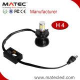 サンプル使用できる広州Matec LED 4300k 6000k 8000k H4 H7 9004 9005のLEDのヘッドライト