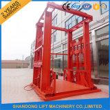Competitive Priceの縦のGuide Rail Hydraulic Cargo Elevator