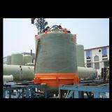 El tanque /Vessel de FRP manufacturado en sitio