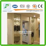 Espejos puestos en unidades del cuarto de baño/espejo impermeable/espejo de los muebles/espejo del rectángulo