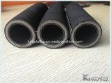 Mangueira R15 hidráulica de borracha resistente do SAE 100 da mangueira do petróleo/tempo
