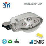 Campo e Cidade Alumínio e PC Cover Street Light, Roadlight (CFL) Zd7-LED