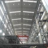 Planta siderúrgica de la luz de acero prefabricada del almacén