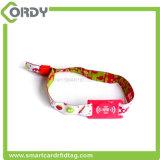 Wristband tessuto ICS50 classico di abitudine 13.56MHz MIFARE 1k MF per il festival