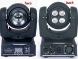 두 배 마스크 LED 소형 이동하는 맨 위 광속 세척 빛