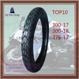 Superzufriedenes inneres Gummigefäß, Reifen 300-17, 300-18, 275-17 des ISO-Nylonmotorrad-6pr