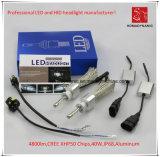 La prova H1 LED CREE Xhp50 faro dell'automobile 4800lm 6000k 40W Acqua