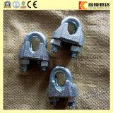 Clip DIN741 de alambre de 3 mm con doble acero inoxidable galvanizado