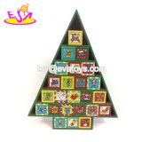 ハンドメイドの子供の木のクリスマスの出現のカレンダの装飾W09f008
