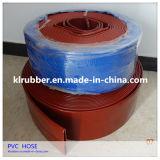 1-12pulgada manguera Layflat PVC reforzado para la Agricultura Riego