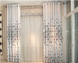Sala de estar moderna Cortinados, cortinas de janela Pronto