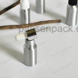 Kosmetische Oliver-Öl-wesentliches Öl-Tropfenzähler-Aluminiumflasche (PPC-ACB-054)