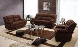 Il sofà commerciale moderno del Recliner del salone ha impostato 1+2+3 (HC6806)