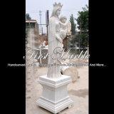 Statua di pietra di marmo per la decorazione domestica Ms-1078